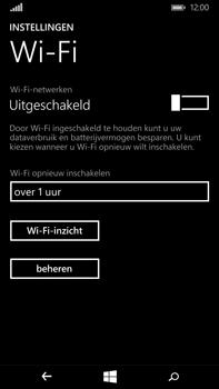 Microsoft Lumia 640 XL - wifi - handmatig instellen - stap 5