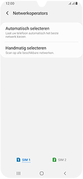 Samsung Galaxy A40 - Netwerk - Handmatig een netwerk selecteren - Stap 8