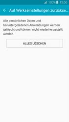 Samsung Samsung Galaxy J3 2016 - Gerät - Zurücksetzen auf die Werkseinstellungen - Schritt 7