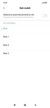 Xiaomi RedMi Note 7 - Rete - Selezione manuale della rete - Fase 11