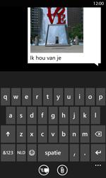 Nokia Lumia 820 LTE - MMS - hoe te versturen - Stap 10