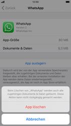 Apple iPhone 7 - iOS 13 - Apps - Eine App deinstallieren - Schritt 7