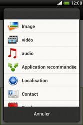 HTC A320e Desire C - MMS - Envoi d