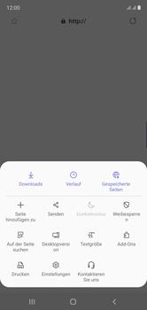 Samsung Galaxy Note 10 - Internet und Datenroaming - Manuelle Konfiguration - Schritt 25