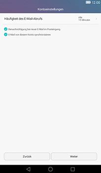 Huawei MediaPad T1 (7.0) - E-Mail - Konto einrichten - Schritt 17