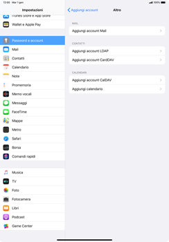 Apple iPad Pro 10.5 (1st gen) - iPadOS 13 - E-mail - configurazione manuale - Fase 6