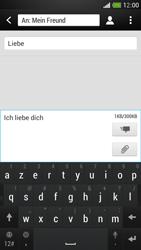 HTC One Mini - MMS - Erstellen und senden - Schritt 13