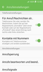 Samsung Galaxy Xcover 3 VE - Anrufe - Anrufe blockieren - 2 / 2