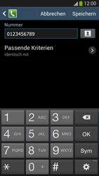 Samsung Galaxy S4 LTE - Anrufe - Anrufe blockieren - 12 / 14