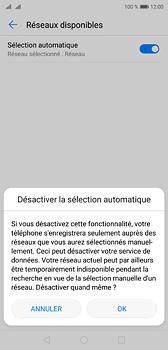 Huawei P20 - Réseau - Sélection manuelle du réseau - Étape 7