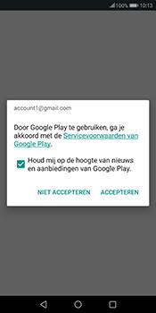 Huawei Mate 10 Pro - Applicaties - Account instellen - Stap 18
