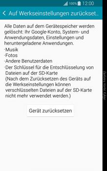 Samsung Galaxy Note Edge - Fehlerbehebung - Handy zurücksetzen - 1 / 1