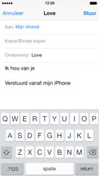 Apple iPhone 5s - E-mail - E-mails verzenden - Stap 8