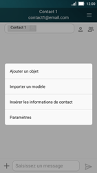 Huawei Y5 - Contact, Appels, SMS/MMS - Envoyer un MMS - Étape 8