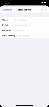 Apple iPhone XS Max - iOS 14 - E-Mail - Manuelle Konfiguration - Schritt 7