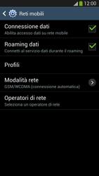 Samsung Galaxy S 4 LTE - Internet e roaming dati - Disattivazione del roaming dati - Fase 6