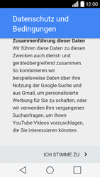 LG Leon 3G - Apps - Konto anlegen und einrichten - 13 / 20