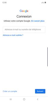 Samsung Galaxy Note 10 - Applications - Créer un compte - Étape 5