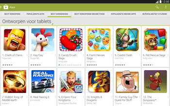 Samsung Galaxy Tab4 10.1 4G (SM-T535) - Applicaties - Downloaden - Stap 9