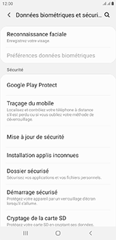 Samsung Galaxy J4 Plus - Appareil - configurer Localiser mon appareil - Étape 5