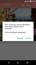 HTC Desire 530 - Photos, vidéos, musique - Envoyer une photo via Bluetooth - Étape 12