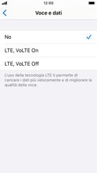 Apple iPhone SE - iOS 13 - Rete - Come attivare la connessione di rete 4G - Fase 6