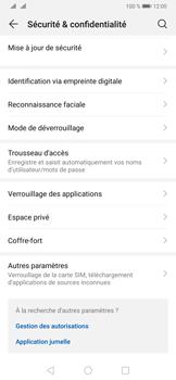 Huawei P30 Pro - Sécuriser votre mobile - Activer le code de verrouillage - Étape 4