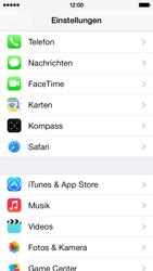 Apple iPhone 5c - Anrufe - Rufumleitungen setzen und löschen - Schritt 3