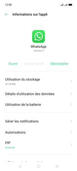 Oppo A15 - Applications - Supprimer une application - Étape 7