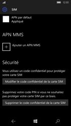 Microsoft Lumia 950 - Sécuriser votre mobile - Personnaliser le code PIN de votre carte SIM - Étape 6