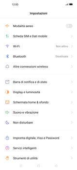 Oppo Find X2 - WiFi - Come attivare l