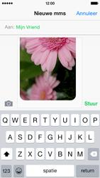 Apple iPhone 5c - iOS 8 - MMS - hoe te versturen - Stap 12