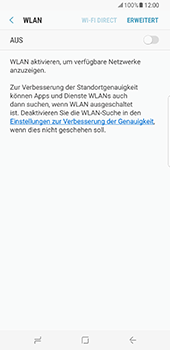 Samsung Galaxy S8 Plus - WiFi - WiFi-Konfiguration - Schritt 6