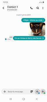 Samsung Galaxy A20e - Contact, Appels, SMS/MMS - Envoyer un MMS - Étape 23