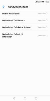 Huawei Mate 10 Pro - Anrufe - Rufumleitungen setzen und löschen - Schritt 6