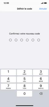 Apple iPhone 11 Pro - Sécurité - activéz le code PIN de l'appareil - Étape 7