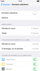 Apple iPhone 7 - Internet et connexion - Désactiver la connexion Internet - Étape 5