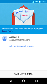 Acer Liquid Zest 4G Plus - E-mail - Manual configuration (gmail) - Step 15