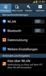 Samsung S7580 Galaxy Trend Plus - WLAN - Manuelle Konfiguration - Schritt 4