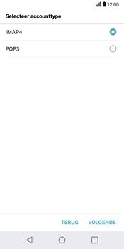 LG G6 H870 - E-mail - Account instellen (IMAP zonder SMTP-verificatie) - Stap 9