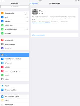 Apple iPad Pro 12.9 inch met iOS9 (Model A1652) - Software updaten - Update installeren - Stap 5