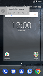Nokia 3 - Operazioni iniziali - Installazione di widget e applicazioni nella schermata iniziale - Fase 7