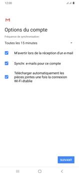 Samsung Galaxy A31 - E-mails - Ajouter ou modifier votre compte Yahoo - Étape 12