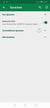 Huawei P30 - Startanleitung - So fügen Sie eine Tastatursprache hinzu - Schritt 8