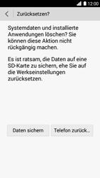 Huawei Ascend G6 - Fehlerbehebung - Handy zurücksetzen - Schritt 9