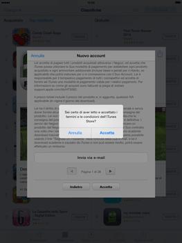 Apple iPad mini iOS 7 - Applicazioni - configurazione del negozio applicazioni - Fase 11