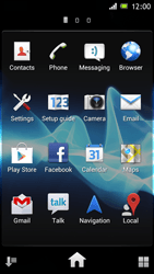 Sony Xperia J - Applications - Setting up the application store - Step 3