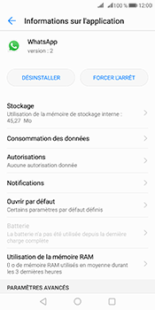 Huawei Mate 10 Pro - Applications - Supprimer une application - Étape 6