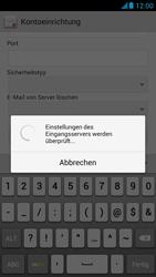 Huawei Ascend G526 - E-Mail - Konto einrichten - 2 / 2
