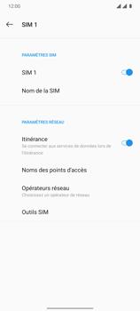 OnePlus 7T - Aller plus loin - Désactiver les données à l'étranger - Étape 7